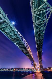 Bluewater Bridge, Sarnia
