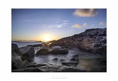 Kerroc'h - Ploemeur (MagiCshoot) Tags: mer ocan ciel longexposure eau rocher rock sunset soleil sun water see clouds nuage