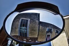 What does a mirror look at? (Giorgio Verdiani) Tags: nikon nikkor d800e 363mp digital slr digitale reflex zoom 24120mm prato tuscany toscana industry industria lanificio wool mirror building edificio costruzione