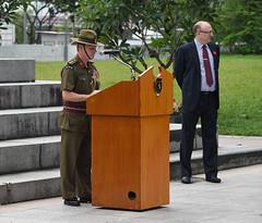 Img557614nx2 (veryamateurish) Tags: singapore remembranceday armisticeday wreathlaying cenotaph padang connaughtdrive singaporecricketclub