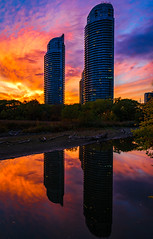 Fire in the sky (Explore) (rmikulec) Tags: