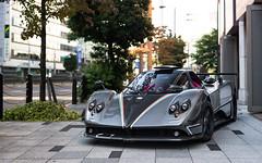 764 Passione. (Alex Penfold) Tags: pagani zonda 764 passione grey carbon supercars super car cars autos alex penfold 2016 tokyo