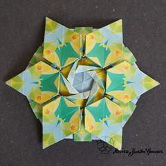 Iimori Astra I (Day 41) (Yureiko) Tags: yureiko tessellation papierfalten papier origami paperfolding paper