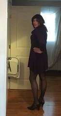 sweater dress (JenniferB!) Tags: crossdress crossdresser crossdressed cd c crossdressing secretary stockings officegurl lipstick transgender tgurl tgirl tg tights tranny trans gurl gurly gurlish girlygurl girly girlish girlygirl makeup pantyhose ladylike enfemme femme heels ootd hosiery pumps
