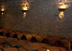 DJ 476 (cadayf) Tags: 33 gironde chreau vin wine cave chai cellar barrique barrel bois wood clairage light