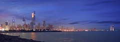 Kuwait City (khalid almasoud) Tags: pentax k01 pentaxk01 400 mm 40mm kuwait city november 2016 buildings towers evening lights reflection beach sea sky landscape cityscape بنتاكس الكويت مساء منظر مصور تصوير panorama flickr estrellas pentaxflickraward greatphotographers
