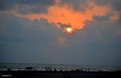 S u n s e t- 6 (anwarul88) Tags: sunset sunlight sea seashore coxsbazar bangladesh nikond5100 nikon outdoor