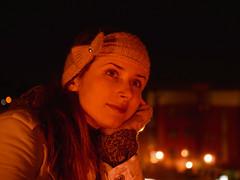341/365: Dream woman (Kelvin P. Coleman) Tags: nikon d7000 nikkor 18105mm f3556 nottingham woman lithuanian beauty urban city night lights streetlight sodiumvapour depthoffield 365 orange outdoor