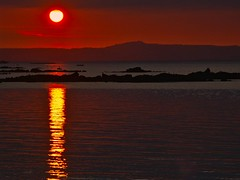 Sunset (Marc ALMECIJA) Tags: sunset sunrise mer ocean sea sun red water reflets reflections