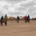 Community members at north Jijiga in Awbare woreda directing to the EOS post in Rujis Health Post to get access to food, health and a healthy environment in addition to health, nutrition and hygiene education