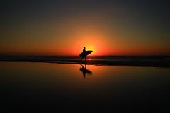 Surfer walking on the beach at sunset - Tel-Aviv (Lior. L) Tags: surferwalkingonthebeachatsunsettelaviv surferwalkingonthebeachatsunset telaviv surfer walking beach sunset reflection sea seascapes silhouettes reflections sky travel telavivnorthbeach telavivbeach