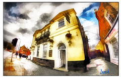 HARE AND HOUNDS (Derek Hyamson (5 Million views)) Tags: impression hdr pub liverpool