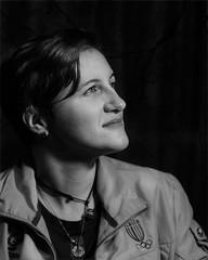 Erika | Portrait (Giovanni Malfattore) Tags: erika zuksku ritratto portrait bw bn black white bianco nero samyang 85mm sonydslra100