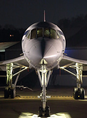 Head on (Treflyn) Tags: concorde gbbdg brooklands museum timeline events night