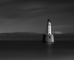 500 seconds at Rattray (Andrew Paul Watson) Tags: lighthouse light longexposure long scotland scottish rattray fine art architecture shadow beach sky cloud firecrest 16stop fujifilm xt1 xt2 14mm 14mmf28 sea seascape landscape blackandwhite monochrome