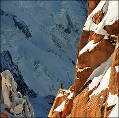 Alpinista (Katarina 2353) Tags: landscape france chamonix