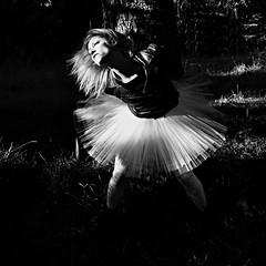 anelito selvaggio (Claudia Gaiotto) Tags: barbarina dancer ballerina movement monochrome forest