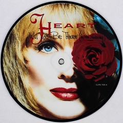Heart - Will You Be There (In The Morning) (Leo Reynolds) Tags: xleol30x squaredcircle picturedisc picture disc 45rpm record single vinyl platter 7inch sqset121 canon eos 40d xx2015xx sqset
