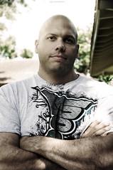 He looks like Vin Diesel (lifegphotos) Tags: portrait photography dad sunny vindiesel