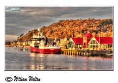 027 Oban,Scotland Nov 2014 (williamwalton001) Tags: fishingboat scotland harbour autumn colours pentaxart dockbay