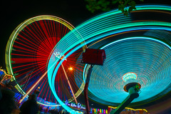 Gallusmarkt Wetzlar 2015 (Thomas-Alexander Karbe) Tags: oktober wheel dill liberty exposure hessen ferris ferriswheel rides riesenrad lahn wetzlar langzeitbelichtung rummel jahrmarkt longtime 2015 wz langzeit fahrgeschfte ldk attraktionen mittelhessen gallusmarkt lahninsel lahndill 2k15