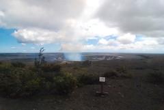 13Oct1248HST Halema'uma'u Pouring out Brimstone (mahteetagong) Tags: cruise hawaii nikon gas tokina sulfur vog 1224mmf4 d80 halemaumalu