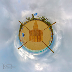 Beach Planet (Undertable) Tags: ocean panorama beach strand meer playa mallorca undertable sacoma littleplanet oliverbauer sacomaplaya