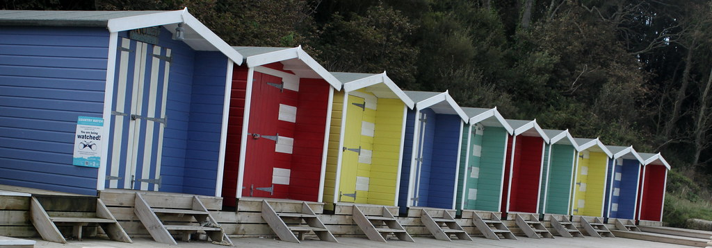 Beach Huts, Colwell Bay
