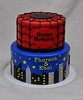Super hero birthday cake (jennywenny) Tags: birthday cake spiderman super hero
