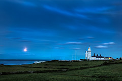 St Catherine's Lighthouse (Elm Studio) Tags: uk sea england sky copyright moon lighthouse night outdoors isleofwight gb morgan hdr potw copyrighted photomatix jeffmorgan niton 8xp stcatherineslighthouse elmstudio jeffelmstudiocom wwwelmstudiocom