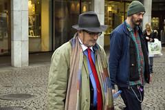 _1260361 (sefotografier) Tags: man hat beard glasses keychain cap unhappy unbuttoned redtie lookingsad