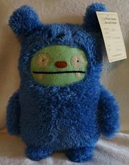 Uglydoll Rare Prototype Jeero Bear Costume -  David Horvath (jcwage) Tags: giantrobot handmade oneofakind ox prototype target uglydoll rare uglydolls icebat babo jeero uglydog gund horvath wedgehead gr2 davidhorvath sunminkim sunmin uglycon uglyworm toodee