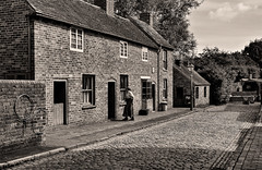 Black Country Museum Street Scene. (curly42) Tags: houses museum dudley cottages cobbledstreet blackcountrymuseum