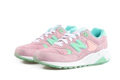 NB WRT580SA Women New Balance 580 Ice Sand Retro Pink Green Sneaker (RobertThrashy) Tags: shopping discount cheap runningshoes coupon womensshoes retrostyle onlinestore newbalance580 fashionsneakers popularshoes