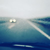 Tempestuous companions (Sator Arepo) Tags: road storm car rain square lumix drops driving panasonic vehicle 17 inside pancake 20mm 40mm tempest g3 windscreen microfourthirds