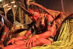 Sing-sing Ceremony, Seane Falls Haus Tambaran, Mt. Bosavi, Papua New Guinea