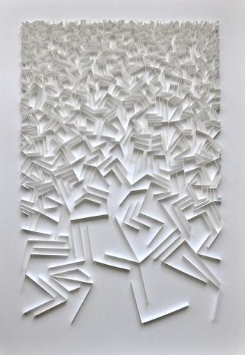 papierreliëf herman coppus 100x70cm