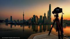 Dawn of the City(The Bund, Shanghai, China) (Davis_Xin) Tags: