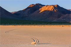 The Racetrack - Death Valley N.P - California (~ Floydian ~ ) Tags: california morning usa rock stone racetrack sunrise landscape photography dawn moving nationalpark rocks stones playa deathvalley np movingrocks theracetrack floydian canoneos1dsmarkiii henkmeijer