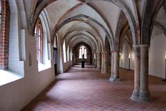 Gothic cloister (Péter_kekora.blogspot.com) Tags: summer holiday germany deutschland nikon august balticsea 1855mm lübeck hansa d60 2015 europeanhansamuseum