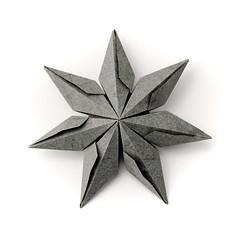 ? (_Ekaterina) Tags: star origami gray paperfolding modularorigami unitorigami ekaterinalukasheva