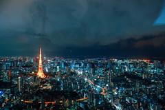_MG_6383 (WayChen_C) Tags: night tokyo tokyotower roppongi  odaiba moribuilding roppongihills minatoku  rainbowbridge          tokyocityview     tokyogatebridge