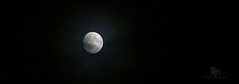 Moon's a baloon (Neyol) Tags: moon super sipermoon black white bw crater misty cloudy clouds canon 200mm croped
