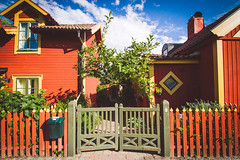(c) Wolfgang Pfleger-8729 (wolfgangp_vienna) Tags: sweden schweden sverige waxholm vaxholm island stockholm schären wood wooden holzhaus red rot