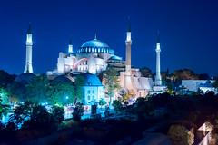 Hagia Sofia, Istanbul (Mustafa Kasapoglu) Tags: hagiasofia istanbul city nightphoto nightphotography night nightshot nights sultanahmet
