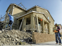 The Real Thing on The Last House (Mikirk) Tags: art photography drive construction fractal micro landscape local labor work land street home house frame tract track suburb suburbanfrontier development newhomes neighborhood fontana northfontana sierracrest meritagehomes southerncalifornia inlandempire newdevelopment sprawl photostudy vista homebuilder contractor scale view macro ca usa