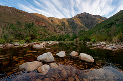 Gobos River Gorge Streaky Sunrise (Panorama Paul) Tags: paulbruinsphotography wwwpaulbruinscoza southafrica westerncape greyton overberg riviersonderendmountains gobosriver streaky clouds sunrise nikond800 nikkorlenses nikfilters