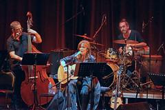 Maria del Mar Bonet, la grande chanteuse catalane en concert  l'Institut du monde arabe  Paris (dalbera) Tags: dalbera ima paris france chant contrebasse chanteuse mariadelmarbonet