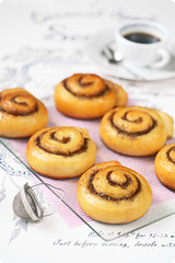 Cinnamon Rolls (iuda) Tags: cinnamon rolls cinnamonrolls roll bun cinnamonbuns breakfast sweet baking bake baked bakery sugar food foodphotography foodphoto delicious pastry danish traditional fastfood junkfood weekend morning white homemade blogger recipe foodblogger coffee coffeebreak espresso bread icing confectionery patisserie yummy stilllife