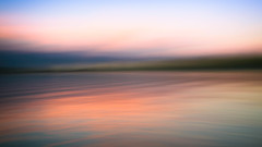 Sea of Colors (BeautiPhile) Tags: 16x9 icm abstract abstractphotography bluehour blurred dreamy fineart fineartphotography green magenta ocean orange pastel pastelcolors reflections ripples skyline sunset sunsetcolors twilight waves water cloud sky teal outdoor landscape fluid